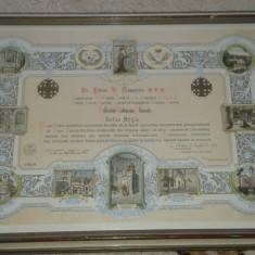 Litografie Tablou motiv religios editura ALMA Milano 1963