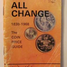 CY - Catalog monede Marea Britanie / Anglia 1838 - 1968 preturi limba engleza