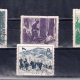CHINA,PRC - 1958  Michel 416 - 419 - SERIE COMPLETA STAMPILATA