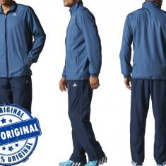 Trening barbat Adidas Basic - trening original - Trening barbati Adidas, Marime: S, Culoare: Din imagine, Poliester