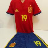 Echipament sportive fotbal copii Spania Diego Costa marimea 176 - Set echipament fotbal, Marime: Alta