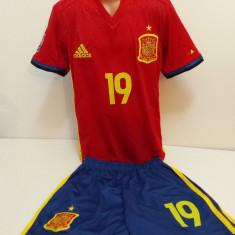 Echipament  sportive fotbal copii Spania Diego Costa  2016-2017