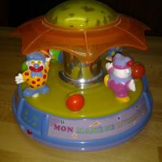 Carusel muzical - Lampa de veghe jucarie copii