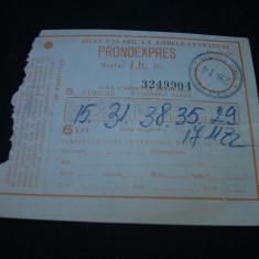 Bilete loto-pronoxpres -1982