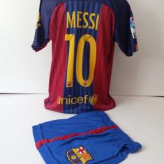 Echipament sportiv fotbal copii FC.Barcelona Messi marimea 176 - Echipament fotbal, Marime: Alta, Set echipament fotbal