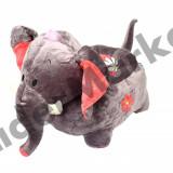 Elefant fotoliu din plus copii - Fotoliu copii