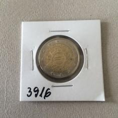 3916 GERMANIA 2 EURO 2002 J 10 ANI MONEDA EURO, Europa