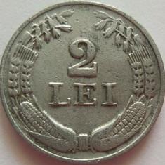 Moneda 2 Lei - ROMANIA, anul 1941 *cod 2600 Zinc - Moneda Romania