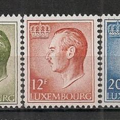 Luxemburg.1975 Marele Duce Jean  hartie fosforescenta  CL.237