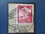 TIMBRE GERMANIA -SAARLAND 1947-1959 STAMPILA  BAD WILDUGEN, Stampilat