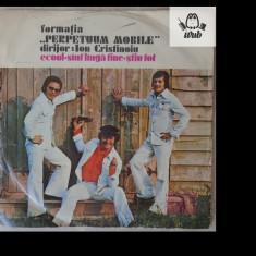 Formatia Perpetuum Mobile, disc vinil vinyl Electrecord, EDC 10.496 - Muzica Rock & Roll