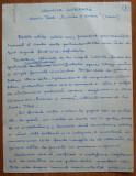 Manuscris al lui Ovidiu S. Crohmalniceanu , Cronica literara , 9 pagini