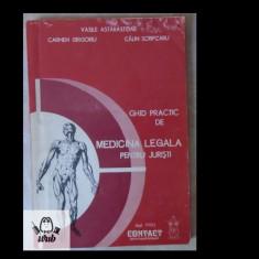 V Astarastoae, C. Scripcaru, Ghid practic de medicina legale pentru juristi 1993