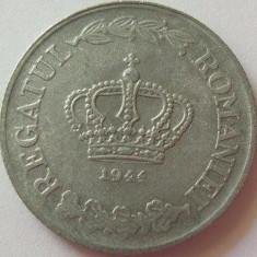 Moneda 20 Lei - ROMANIA, anul 1944 *cod 1842 Zinc - Moneda Romania