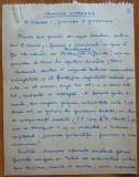Manuscris al lui Ovidiu S. Crohmalniceanu ,Cronica literara ,Z. Ornea ,13 pagini