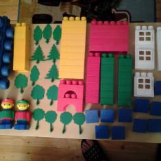 Set 74 cuburi de constructie (XXL) - Set de constructie