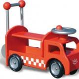 Premergator din lemn pentru copii masina de pompieri, Vilac