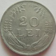 Moneda 20 Lei - ROMANIA, anul 1944 *cod 202 Zinc - Moneda Romania