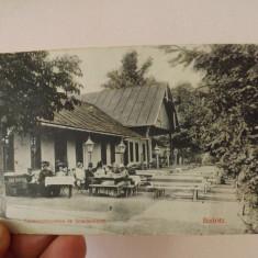 Carte postala, Bistrita 1917.Restaurantul din Schulerwalde. - Carte Postala Transilvania 1904-1918, Circulata, Fotografie