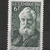 Luxemburg.1976 100 ani telefonul CL.245 - Timbre straine, Nestampilat