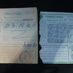 Bilete pronoexpres-1984 - Bilet Loterie Numismatica