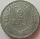 Moneda 2 Lei - ROMANIA, anul 1941 *cod 3099  Zinc