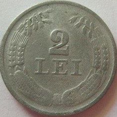 Moneda 2 Lei - ROMANIA, anul 1941 *cod 3099 Zinc - Moneda Romania