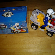 City Police Moto jucarie copii 22 cm - Jucarie interactiva