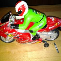 Motor Cycle Racer jucarie copii 26 cm - Jucarie interactiva
