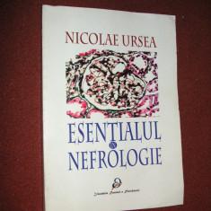 ESENTIALUL IN NEFROLOGIE - NICOLAE URSEA - Carte Diagnostic si tratament