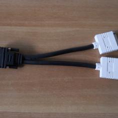 Adaptor cablu Y Spliter DMS 60 la 2 x DVI.