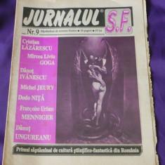 JURNALUL SF NR 9. CONTINE 2 pagini benzi desenate Gabriel Rusu (5501 - Carte SF