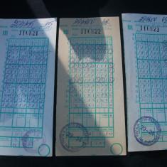 Bilete loto-pronosport-1993 - Bilet Loterie Numismatica