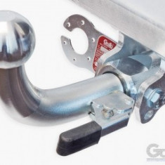 Carlig remorcare demontabil automat pentru VW Crafter platforma roti duble 2006-