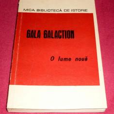 O LUME NOUA - GALA GALACTION, ilustratii, 1970 + CADOU - Carte de aventura