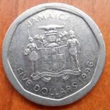 JAMAICA 5 DOLLARS  1996 KM 163