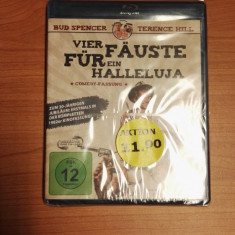 Film Blu Ray Vier Fauste fur ein Halleluja (Germana) - Film comedie, Engleza