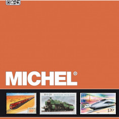 MICHEL CATALOG SPEZIAL 2014 TRENURI SI LOCOMOTIVE PE TIMBRE DIN INTREAGA LUME