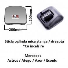 Sticla oglinda mica stanga dreapta Mercedes Actros Atego Axor Econic | Piese Noi