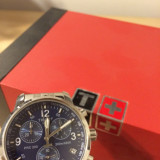 Tissot PRC 200 Albastru - Ceas barbatesc Tissot, Sport, Quartz, Inox, Cronograf