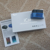 Interfata diagnoza Vgate iCar 3 Bluetooth OBDII OBD2 ELM327 pt. Android iOS PC