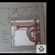 Just jazz, mapa cu 4 discuri vinil vinyl Fabbri, Italy - v protagonistii in foto - Muzica Jazz Altele
