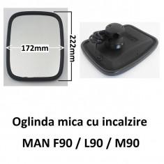 Oglinda mica dreapta stanga cu incalzire MAN F90 / L90 / M90 | unghi indepartat