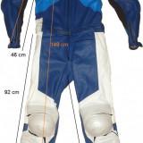 Combinezon moto 100% piele SPYKE protectii, kevlar (M) cod-144880