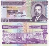 BURUNDI 100 francs 2001 UNC!!!