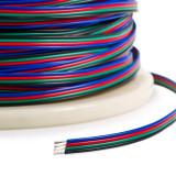 Cablu conectare banda LED RGB 5050 3528 4 fire 22AWG