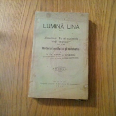 LUMINA LINA * Material Omelitic si Catehetic - Marin C. Ionescu - vol. II, 1938 - Carti de cult