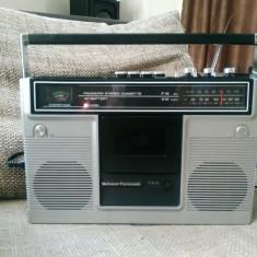 Radiocasetofon vintage National Panasonic RS-451S boombox, impecabil.