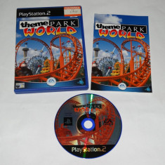 Joc Playstation 2 - PS2 - Theme Park World - Jocuri PS2 Sony, Actiune, Toate varstele, Single player
