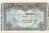 SPANIA BILBAO 50 PESETAS 1937 XF